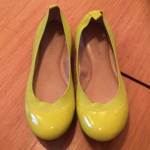 Banana Republic Yellow Flats